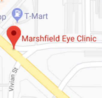 marshfield eye clinic map